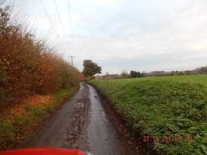 A dirty Back Lane which is unpleasant to walk down, practically impassable to cyclists and dangerous for horses. Copyright all photos on this item Stu Wilson