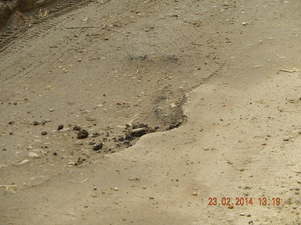 USE Potholes Marsham Road 23022014 outside The Cottage (3)