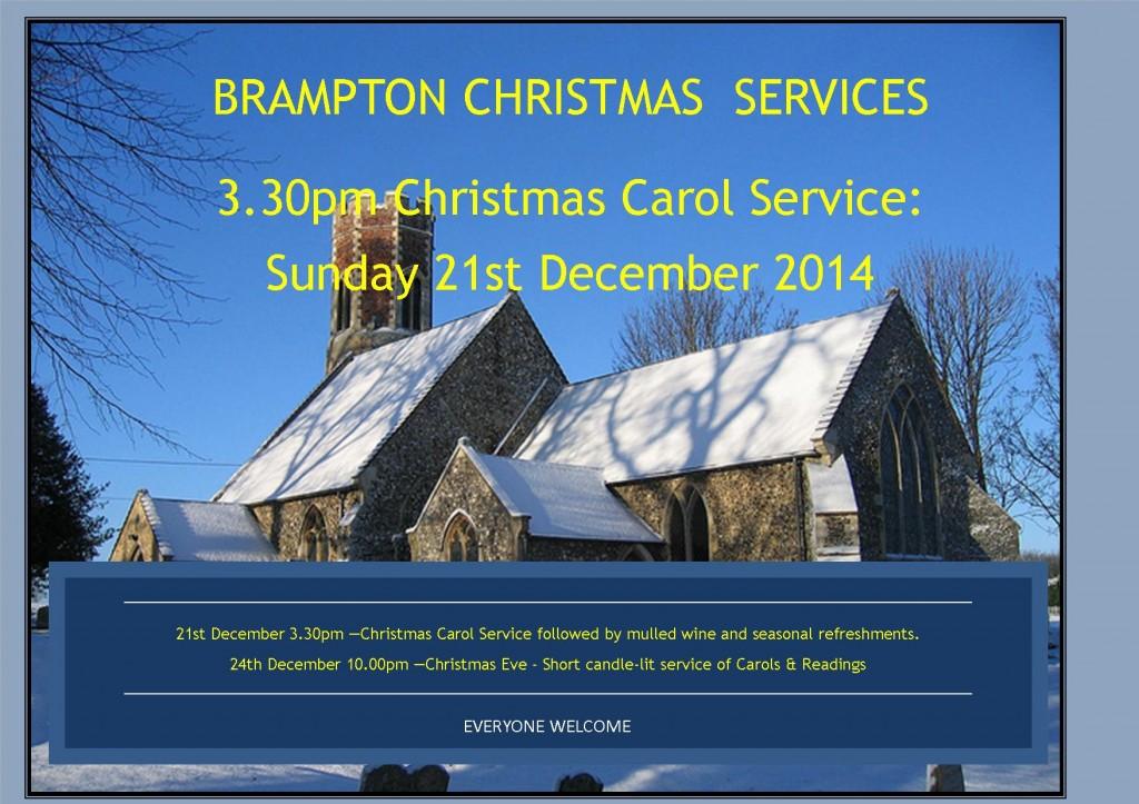 Christmas at Brampton Church 2014