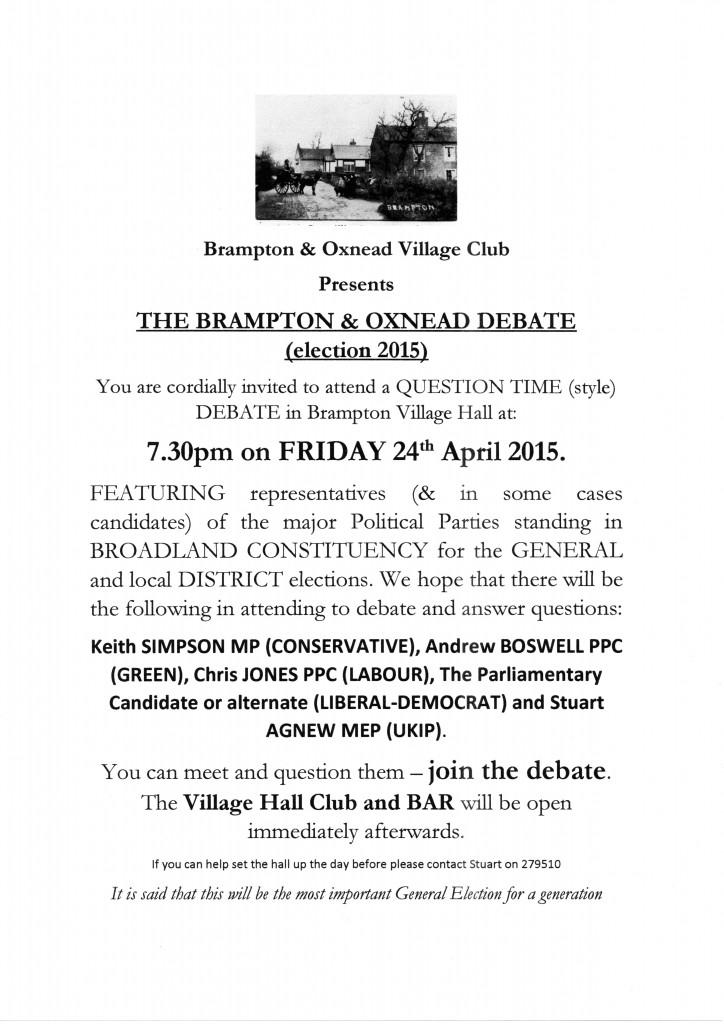 Brampton Debate final version2001